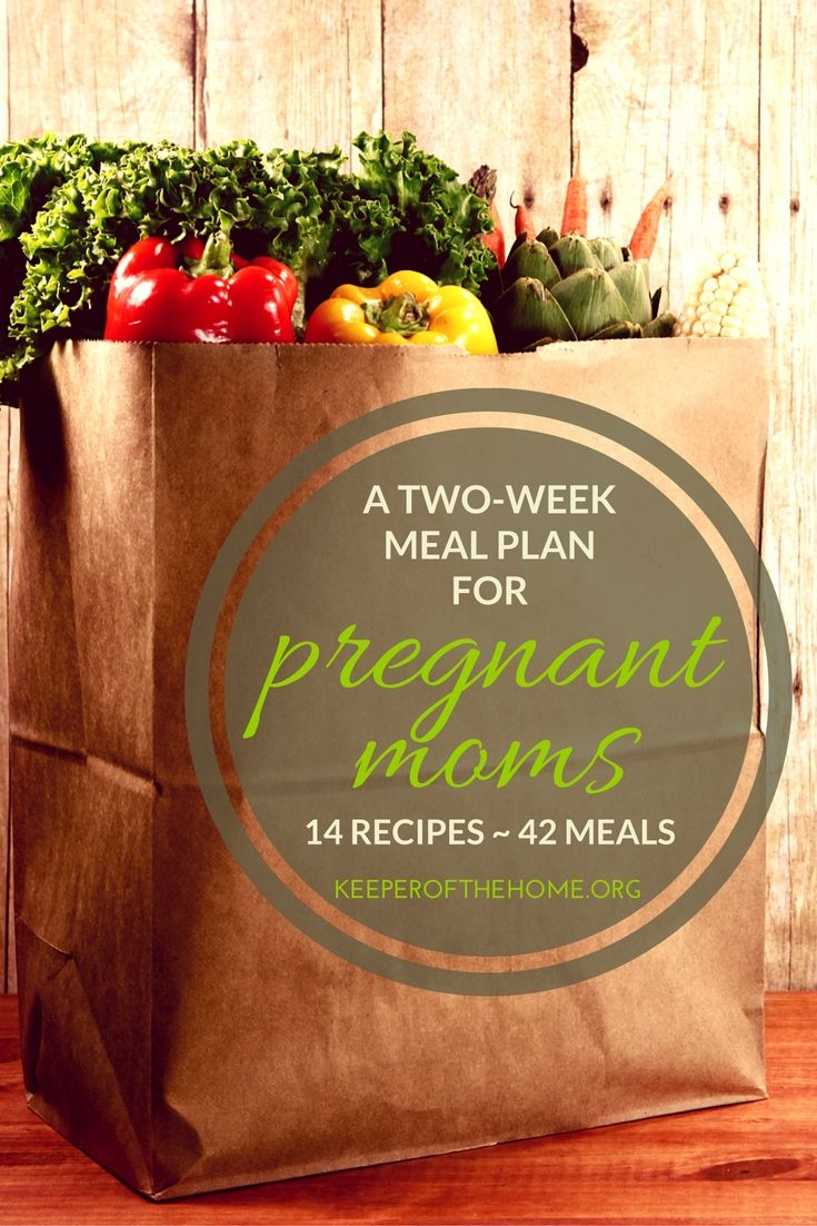 Meal planning is hard enough, but when you're pregnant it can feel impossible. This post has 14 recipes RIGHT HERE, along with 28 other ideas. So it's enough for two full weeks of eating, 3 meals a day...or 42 meals, however you eat them. :)
