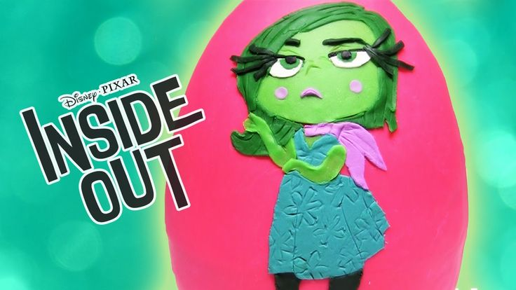 BIG Inside Out DISGUST Emotion Surprise Play Doh Egg by Rainbow Toys TV https://youtu.be/PF70itGZyfI