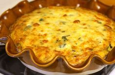 Quiche sans pâte au poulet Weight Watchers