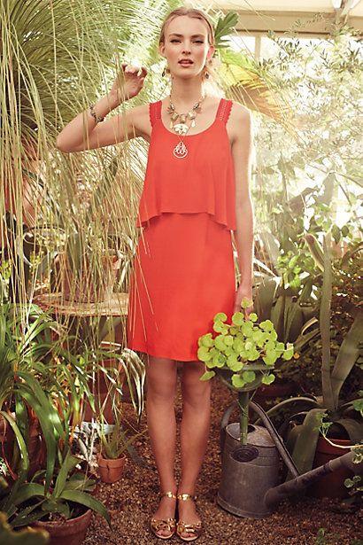 Tisana Dress #anthropologie #anthrofave