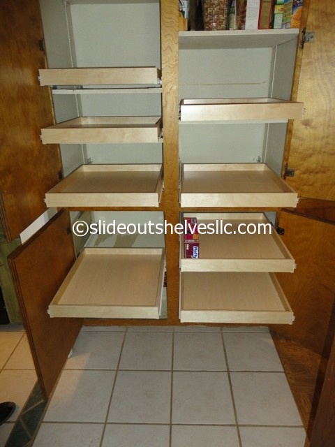 kitchen cabinet sliding shelf 17 best images about pull out pantry shelves on 5781