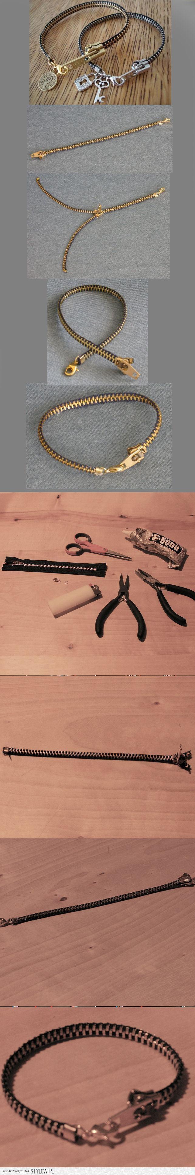 `braccialetto con cernoera -tutorial