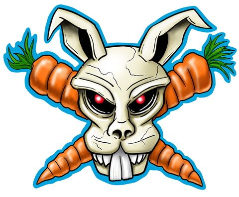 Easter Bunny Pirate: Rev Theoryeast, Bunnies Pirates, Easter Bunnies, Pirates Easter, Crosses Bunnies, Couple Tattoos, Easter Bunny, Pirates Treasure