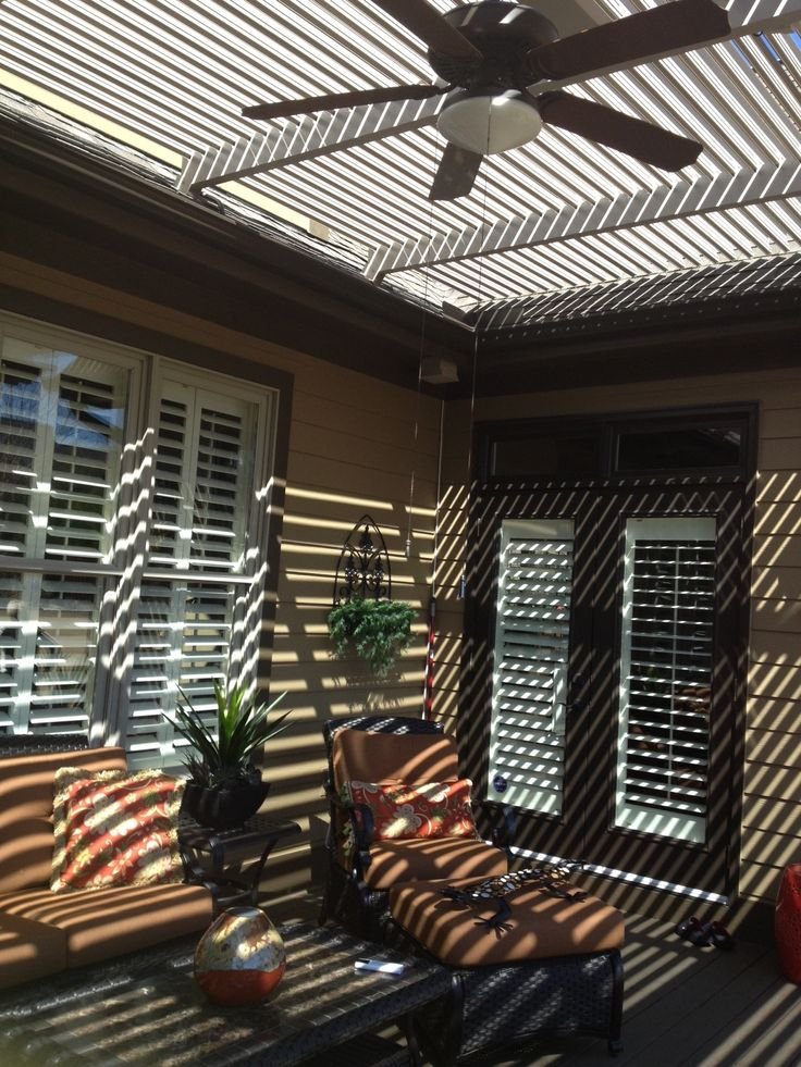 Imagine Your Outdoor Space Looking This Inviting For Guest. The American  Louvered Roof Patio Cover