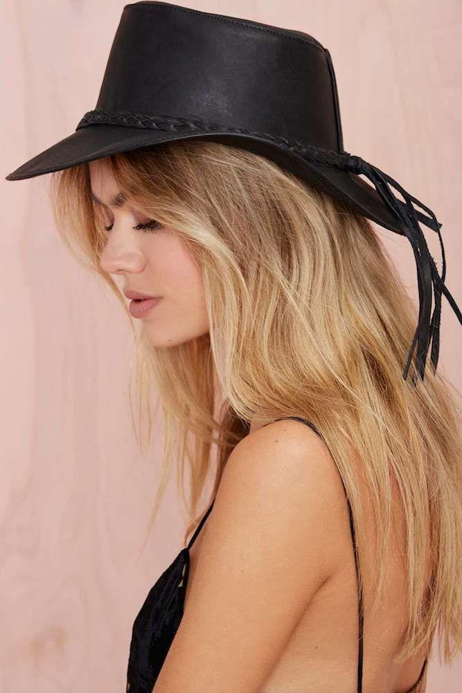 Stela 9 Ranchero Hat, $150 at Nasty Gal. Perf for Coachella!