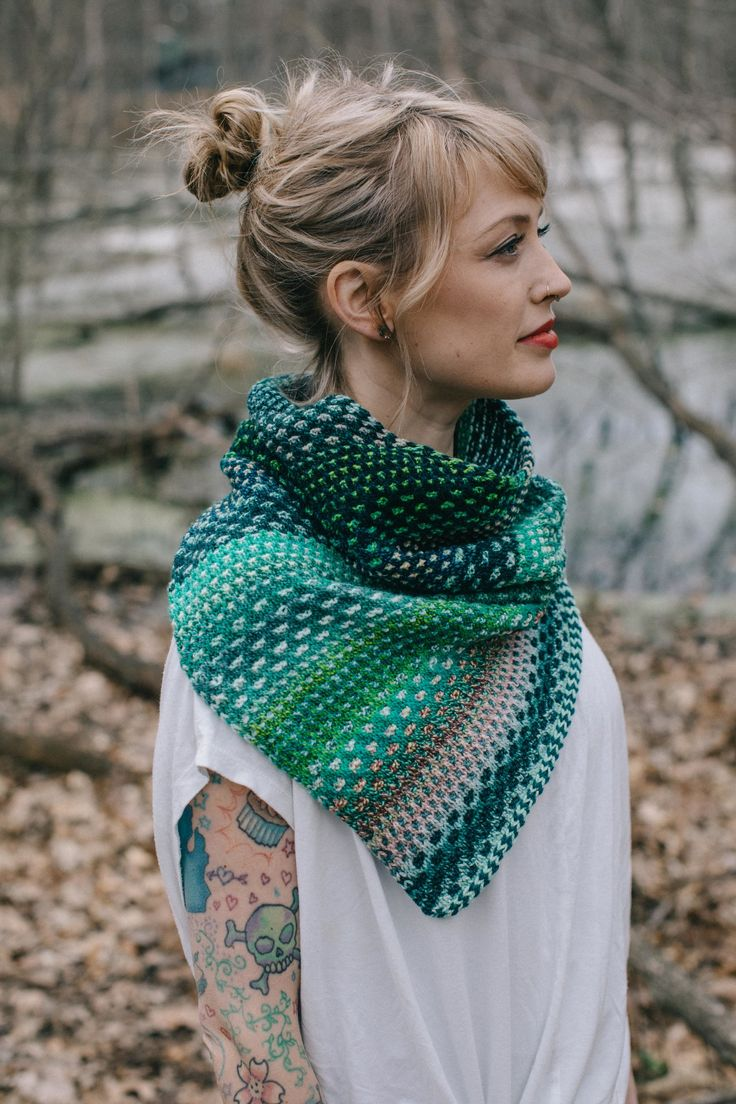 Easy Knitted Scarves For Beginners