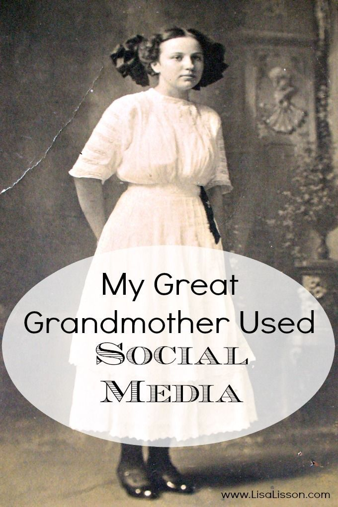 My Great Grandmother Used Social Media