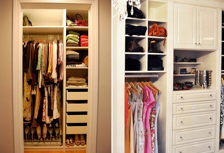 18 best images about decor closets on pinterest um - Como decorar espacios pequenos ...