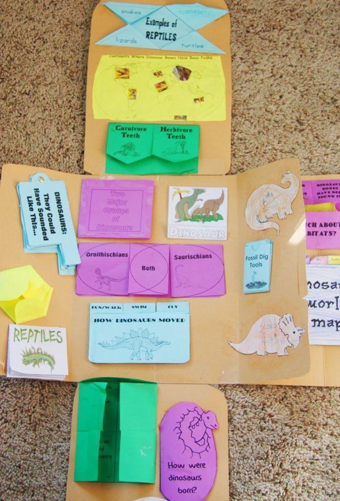 Broom and Crown: Dinosaur Study - Part 1: Lapbooks