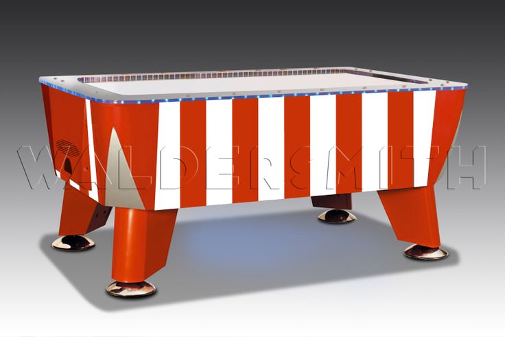 Twister Candy Stripe Children's Air Hockey Table