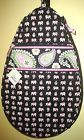 NWT Vera Bradley Tennis Racquet Bag / Case / Cover w/ Pink Elephants - http://sports.goshoppins.com/tennis-racquet-sports-equipment/nwt-vera-bradley-tennis-racquet-bag-case-cover-w-pink-elephants/