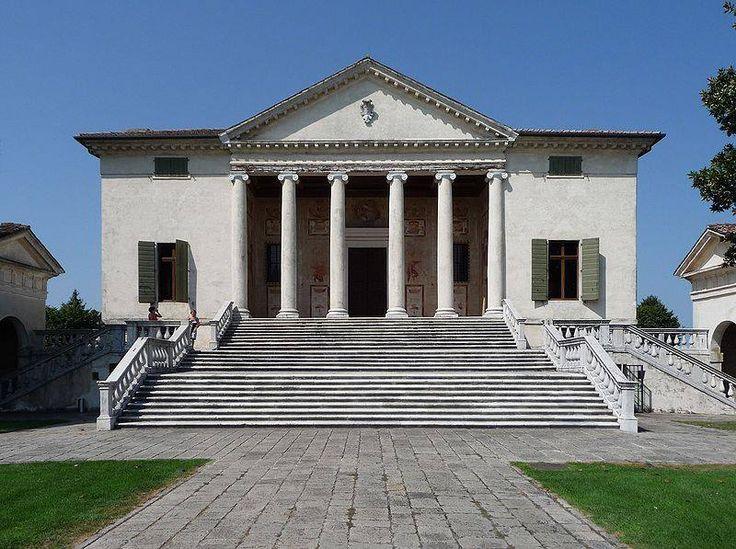 Fratta Polesine (Rovigo) Villa Badoer, opera spledida del Palladio.  Dottrina dell'Architettura