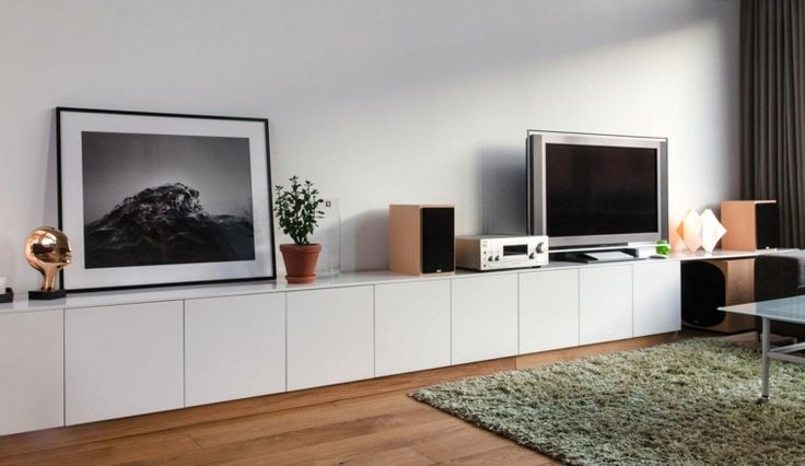 ikea meubles tv id es de meubles fabriquer soi m me a home pinterest meuble pour tv tv. Black Bedroom Furniture Sets. Home Design Ideas