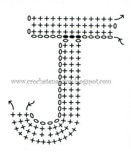 Letra J Crochet En Acción: abecedario
