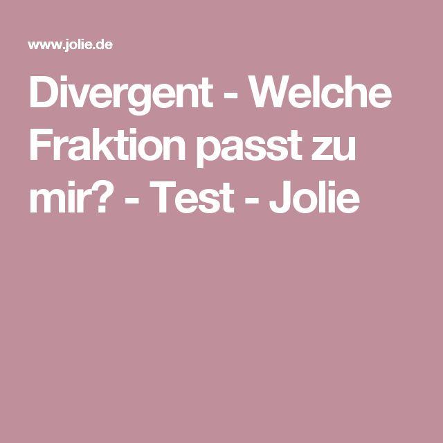Divergent - Welche Fraktion passt zu mir? - Test - Jolie