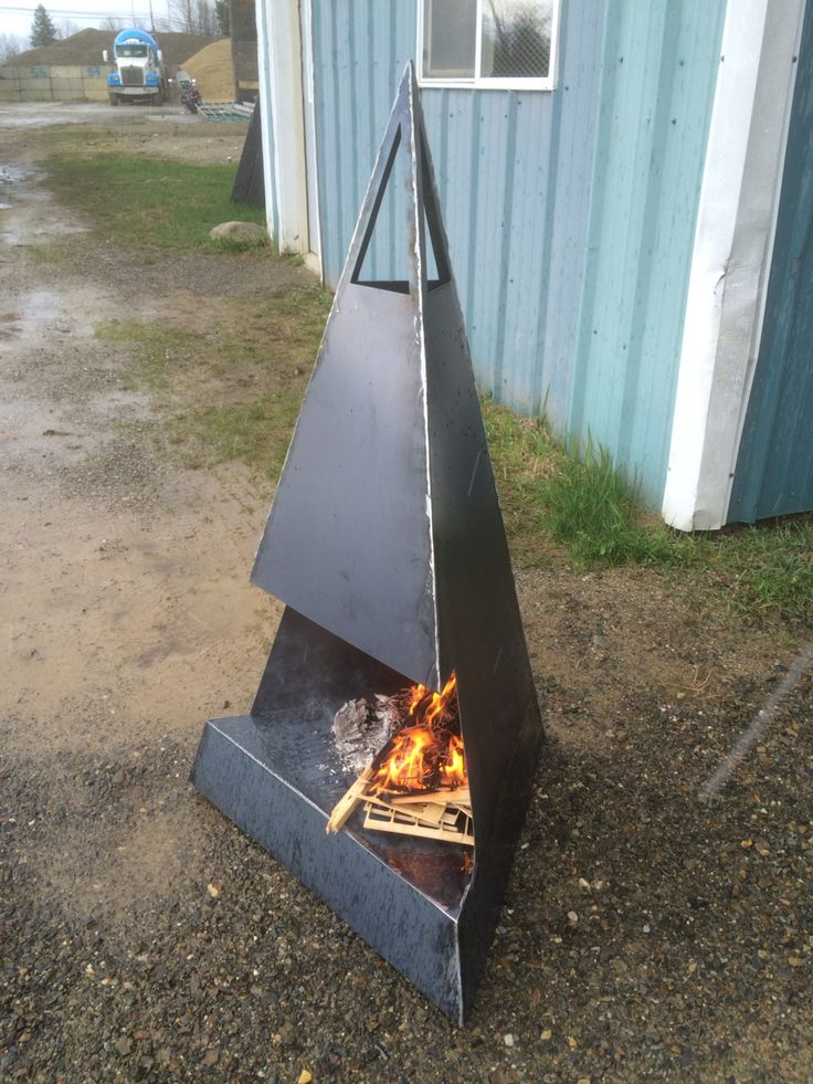 Outdoor metal fire pit. Feeling Inspired? What can I make for you?https://www.etsy.com/shop/HighDesertMetalcraft?ref=hdr_shop_menu