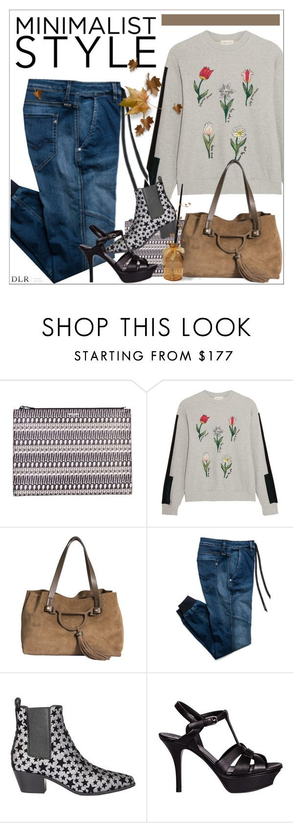 """DLRBOUTIQUE.COM"" by mirachu-1 on Polyvore featuring Yves Saint Laurent, Steve J & Yoni P, Borbonese and Replay"