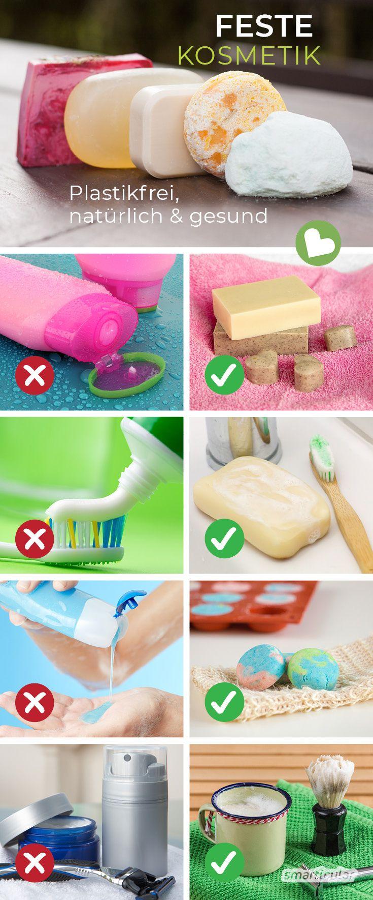 Feste Kosmetik – plastikfrei, (fast) abfallfrei, praktisch für unterwegs