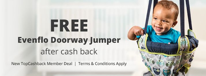 FREE Evenflo Doorway Jumper! - http://supersavingsman.com/free-evenflo-doorway-jumper/