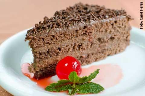 Abruzzi (jantar) Bolo de chocolate