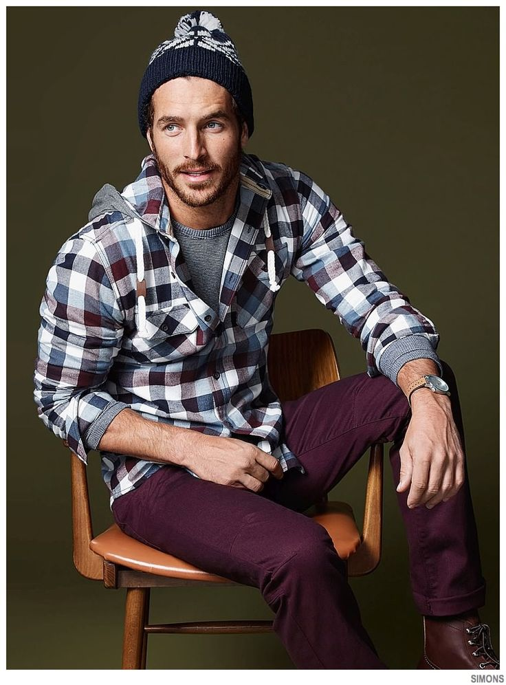 Simons Highlights Casual Holiday Mens Styles image Simons Holiday 2014 Mens Styles Justice Joslin 004