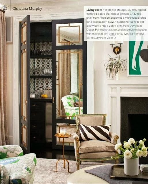 Great Doors That You Could Antique Using The Amy Howard At Home Mirror Kit