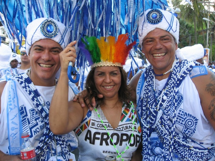 Filhos de Gandhi, Carnaval, Salvador - Bahia - Brasil