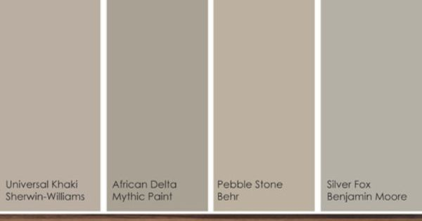 Sherwin Williams Universal Khaki Complementary Colors