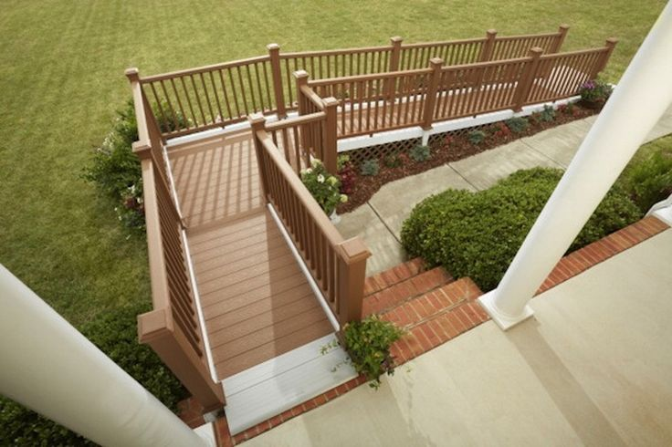 wheelchair ramp ideas 28 ft 90degree turn ramp with