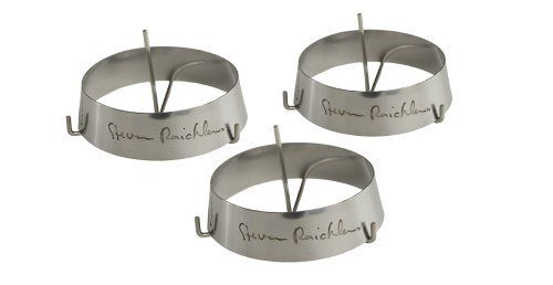 Steven Raichlen Best of Barbecue Stainless Steel Grilling Ring with Spike Set of 3 (3-inch Round) by Steven Raichlen Best of Barbecue. Save 14 Off!. $8.62. Spike to hold food secure. Model number: SR8033. Stainless Steel. Barbecue fruits and vegetables with ease. Grilling authority, Steven Raichlen, host of the popular cooking series Barbecue University and author of the best-selling Barbecue Bible cookbook series, partnered with The Companion Group to create a fabulous line of inno...