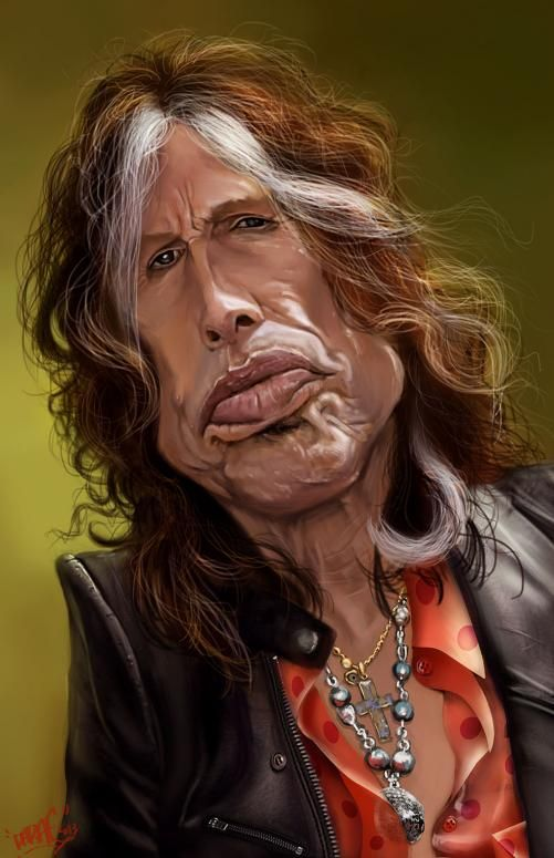 "DARAF1: Steven Tyler. From Wikipedia: Steven Tyler (born Steven Victor Tallarico on March 26, 1948) is an American singer, songwriter, and multi-instrumentalist, best known as the frontman and lead singer of the Boston-based rock band Aerosmith, in which he also plays the harmonica, and occasional piano and percussion. He is known as the ""Demon of Screamin'"" due to his high screams and his wide vocal range. He is also known for his on-stage acrobatics. During his high-energy performances…"