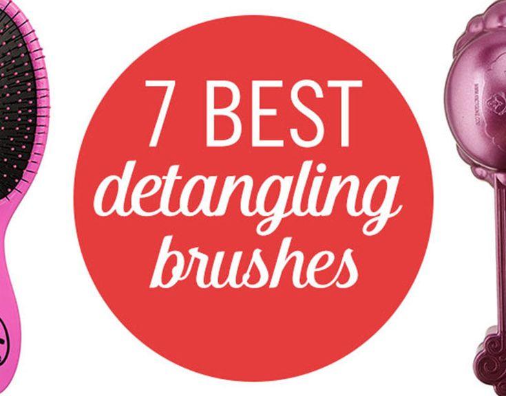 7 Best Hairbrushes for Detangling