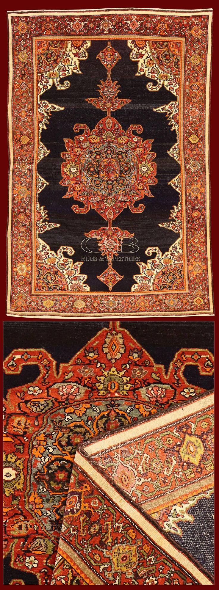 Antique Farahan Sarouk Iran Magnificent Persian Rugs Turks Carpets Of Xixth Cent