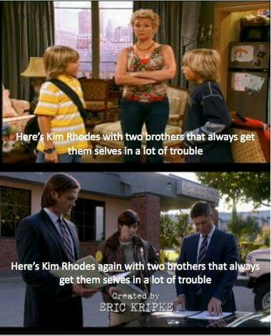 #Supernatural #Zack&Cody
