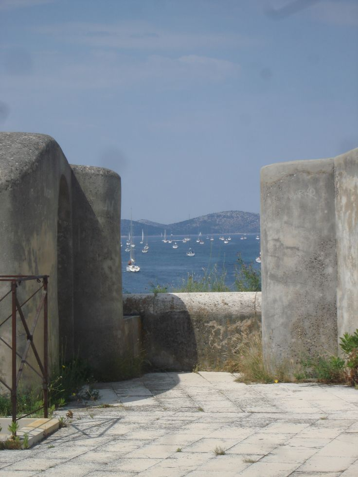 View from fortress of St. Nikola's