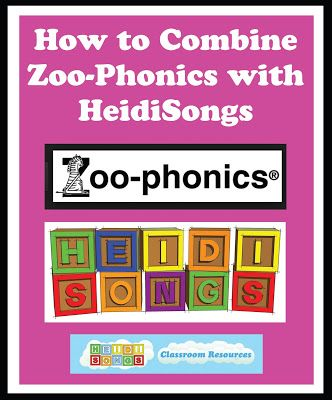 How to Combine Zoo-Phonics with HeidiSongs | Heidi Songs