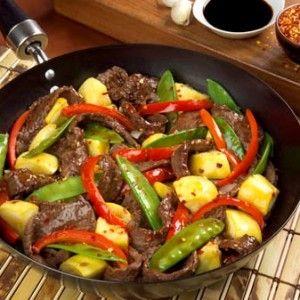 Honey Beef Stir Fry