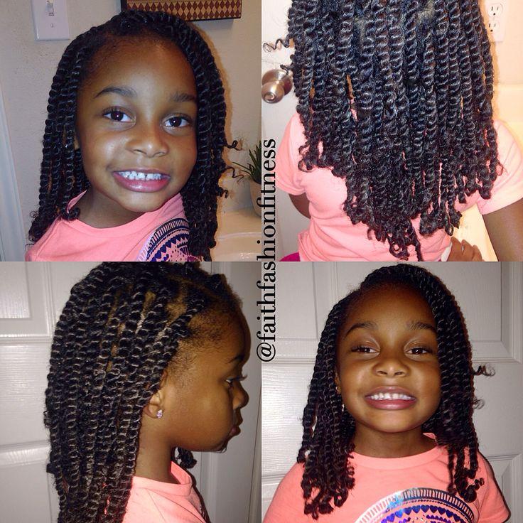 Natural kids hairstyle