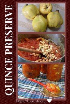 Glyko Kydoni (quince preserve) is one of my favourite autumn fruit preserve.  Depending on the variety, once cooked it transforms into a nice pinkish to red colour and all its beautiful aroma is released. Updated recipe with video.  #quince #quince_preserve #glyko_kydoni #kydoni_trifto