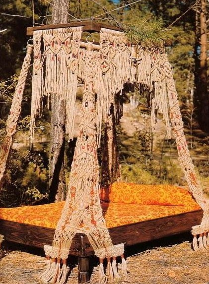 Yes a Macrame Waterbed..Only in the 70u0027s. & 17 best Waterbeds images on Pinterest | Beds Waterbed and Bedrooms