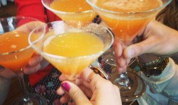 Test Pinterest : martini à la pêche, PARFAIT drink d'un 5 à 7 entre filles