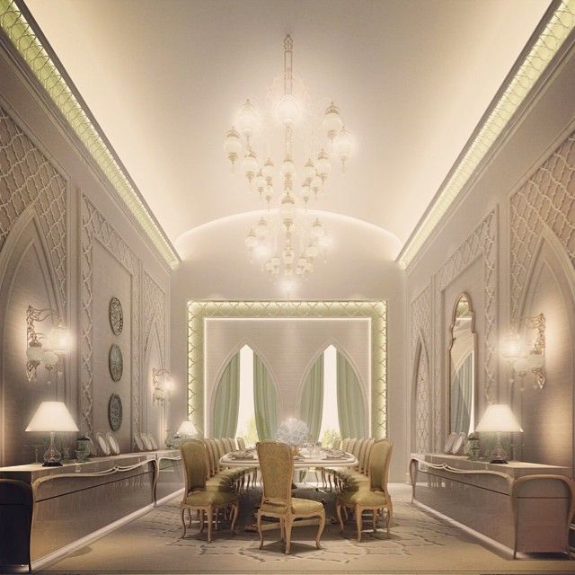 Residential Projects   Abudhabi, Qatar, Dubai   Traditional   Spaces    Otheru2026 Find This Pin And More On Dining Rooms Design Collection ...