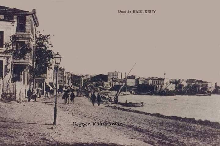 Kadıköy Sahili / Yil 1895.