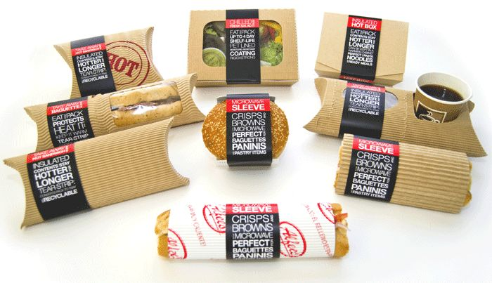 New eco-friendly, take-away packaging from Kavis