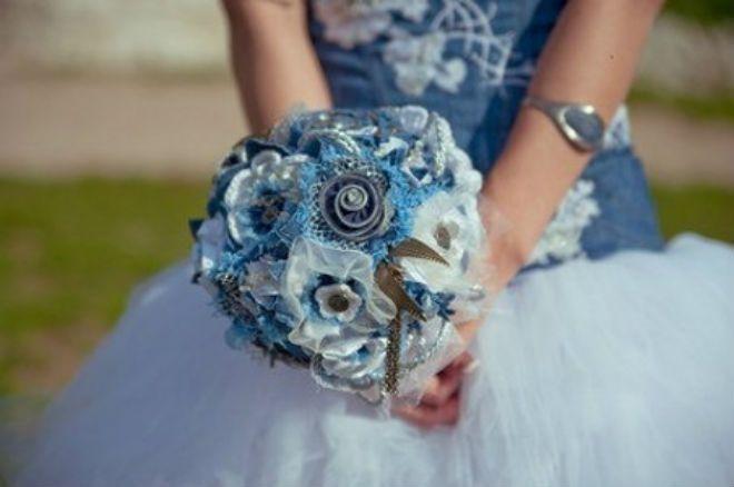 Свадьба в цвете Деним (джинса)