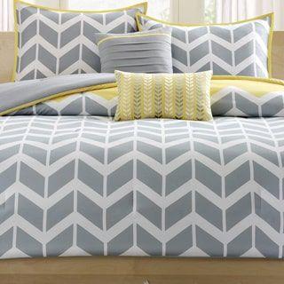 Intelligent Design Elle Yellow Comforter Set