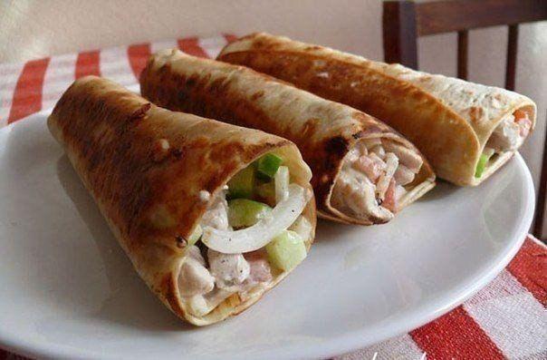 Shawarma (well, very tasty)