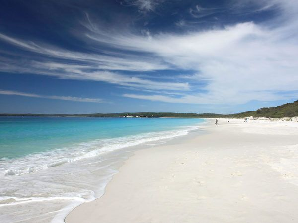 Spend the weekend in the charming village of Hyams Beach on the southern shores of New South Wales' Jervis Bay.