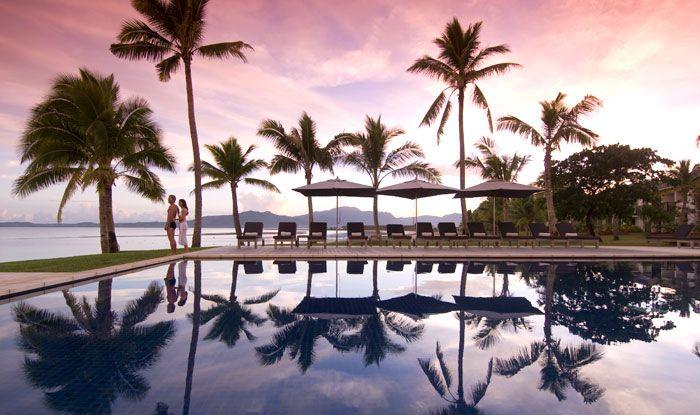 7 Day Fijian South Seas Paradise ~ island resort, breakfasts, transfers, sightseeing & more.  Travelscene.com
