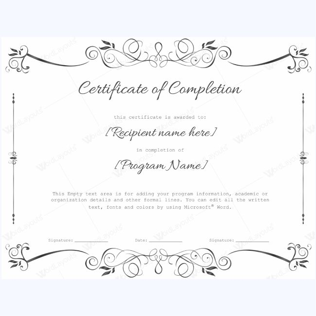 certificate of completion 07